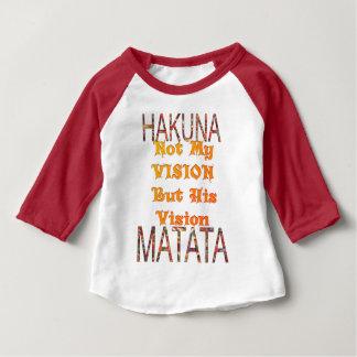 Camiseta De Bebé Mi vintage africano de Vision colorea el matata de