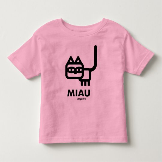Camiseta De Bebé Miau