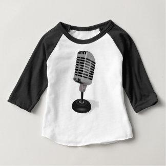 Camiseta De Bebé Micrófono de radio