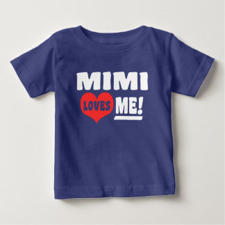 Camiseta De Bebé Mimi me ama