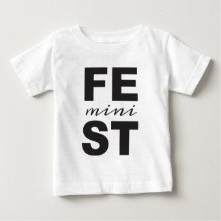 Camiseta De Bebé mini feminista