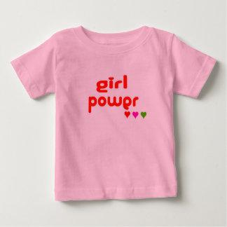 Camiseta De Bebé Mini yo poder retro del chica