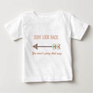 Camiseta De Bebé mire detrás