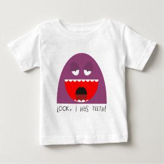 Camiseta De Bebé ¡Mire, los dientes!