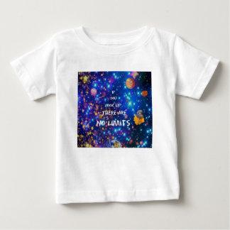 Camiseta De Bebé Mire para arriba y usted ve que la maravilla nos