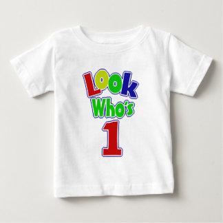 Camiseta De Bebé Mire quién es uno