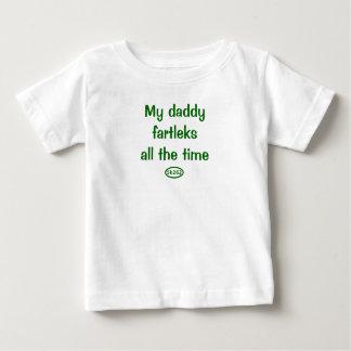 Camiseta De Bebé Mis fartleks del papá todo el tiempo