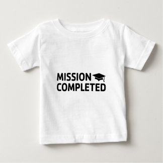 Camiseta De Bebé Misión terminada