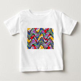 Camiseta De Bebé Modelo abstracto colorido
