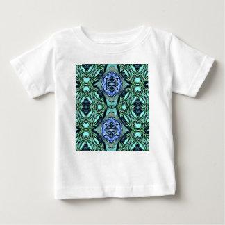 Camiseta De Bebé Modelo artístico de la lila enrrollada del trullo
