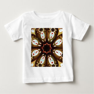 Camiseta De Bebé modelo colorido del punto