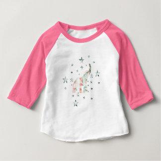 Camiseta De Bebé Modelo de estrellas en colores pastel de los