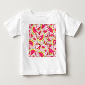 Camiseta De Bebé Modelo de la fiesta del melón de las fresas