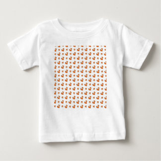 Camiseta De Bebé modelo de los zorros rojos