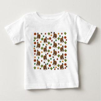 Camiseta De Bebé Modelo de Turquía de la acción de gracias