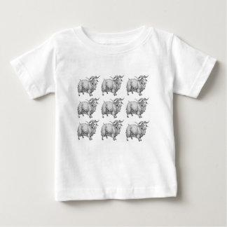 Camiseta De Bebé modelo del espolón viejo