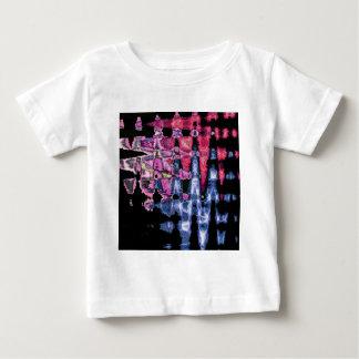 Camiseta De Bebé Modelo lindo bonito de los colores de agua