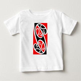 Camiseta De Bebé Modelo maorí 2 de Kowhaiwhai