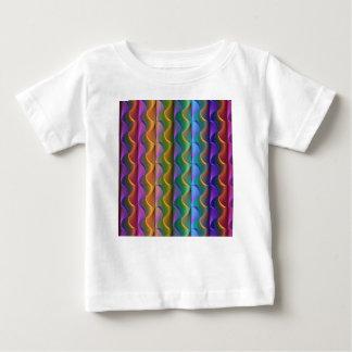 Camiseta De Bebé Modelo psicodélico colorido brillante