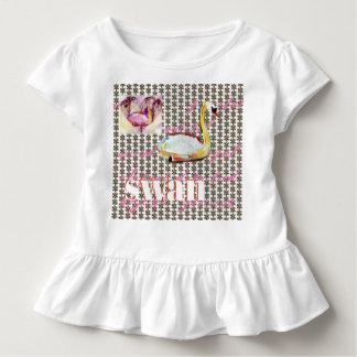 Camiseta De Bebé Modelos del amor del cisne