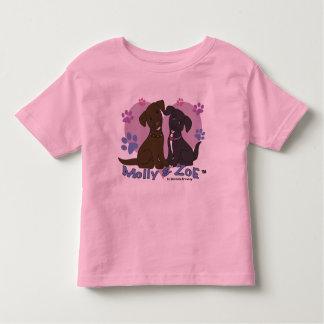Camiseta De Bebé Molly y Zoe