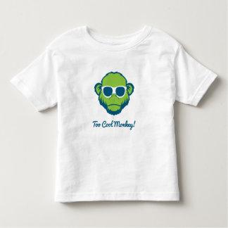 Camiseta De Bebé Mono demasiado fresco