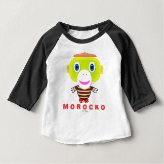 Camiseta De Bebé Mono Morocko-Lindo