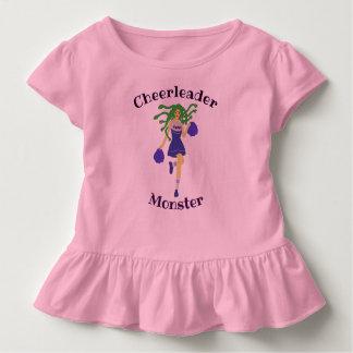 Camiseta De Bebé monstruo de la animadora