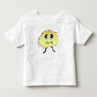 Camiseta De Bebé monstruo triste