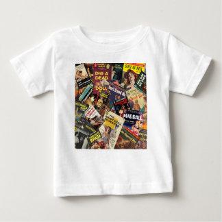 Camiseta De Bebé Montaje de la cubierta de libro