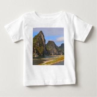 Camiseta De Bebé Montañas a lo largo del río de Li, China