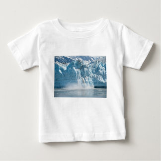 Camiseta De Bebé Montañas blancas abstractas de Alaska del hielo