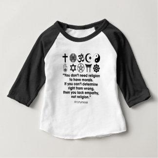 Camiseta De Bebé Moralejas de la religión
