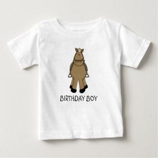 Camiseta De Bebé Muchacho del cumpleaños - potro