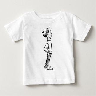 Camiseta De Bebé Muchacho que mira para arriba