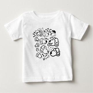 Camiseta De Bebé Muchos perros perdigueros de oro