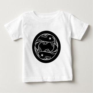 Camiseta De Bebé Muestra de la astrología del zodiaco de los