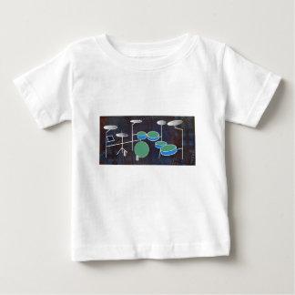 Camiseta De Bebé Mundo del tambor