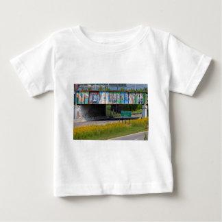 Camiseta De Bebé Mural del parque zoológico