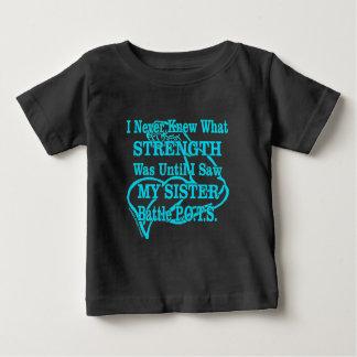 Camiseta De Bebé Muscle/I nunca conocía… a la hermana