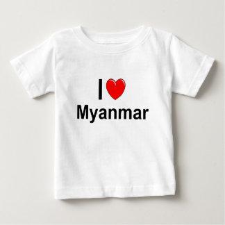 Camiseta De Bebé Myanmar