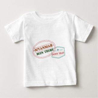 Camiseta De Bebé Myanmar allí hecho eso
