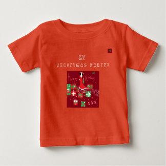 Camiseta De Bebé Navidad de moda T/Shirt del diseñador