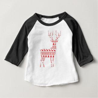 Camiseta De Bebé Navidad Deer2