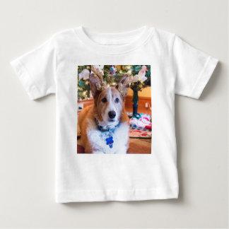 Camiseta De Bebé Navidad del Corgi Galés del Pembroke
