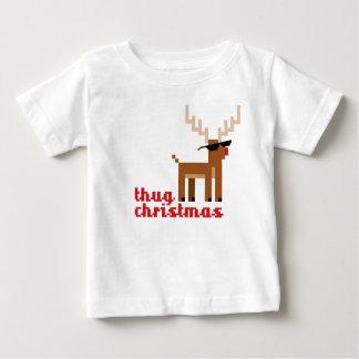 Camiseta De Bebé Navidad del reno de Rudolph de la vida de