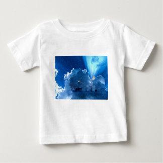 Camiseta De Bebé Navidad estrella y ángel del navidad