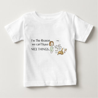 Camiseta De Bebé Ningunas Niza cosas