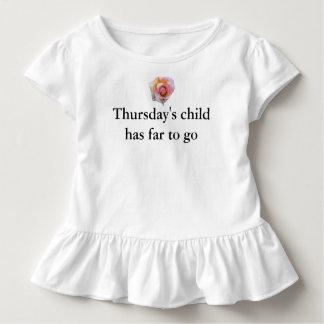 Camiseta De Bebé Niño de jueves