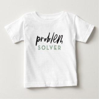 Camiseta De Bebé Niño del solucionador de problemas/camisa del bebé